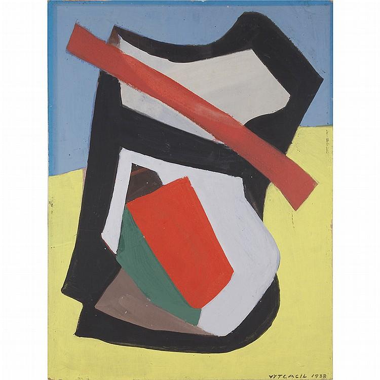 Vaclav Vytlacil American, 1892-1984 Untitled, 1938