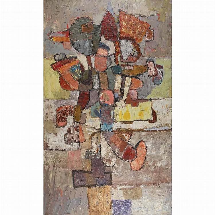 Jacques Doucet French, 1924-1999 Composition, 1956