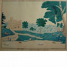 Louisa C. Griffin American, 1810-1905 Lulworth Castle