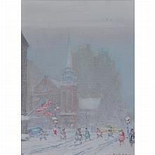 Johann Berthelsen American, 1883-1972 St. James Church, New York