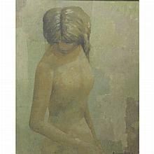 Ryonosuke Fukui Japanese, 1923-1986 Female Nude
