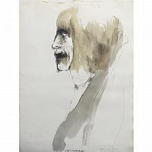 Leonard Baskin American, 1922-2000 Charlotte Corday, 1971