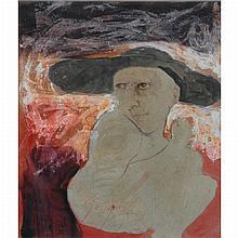 Leonel Gongora Columbian, 1932-1999 (i) Brujo, 1963 and (ii) Two Nudes, 1962: Two