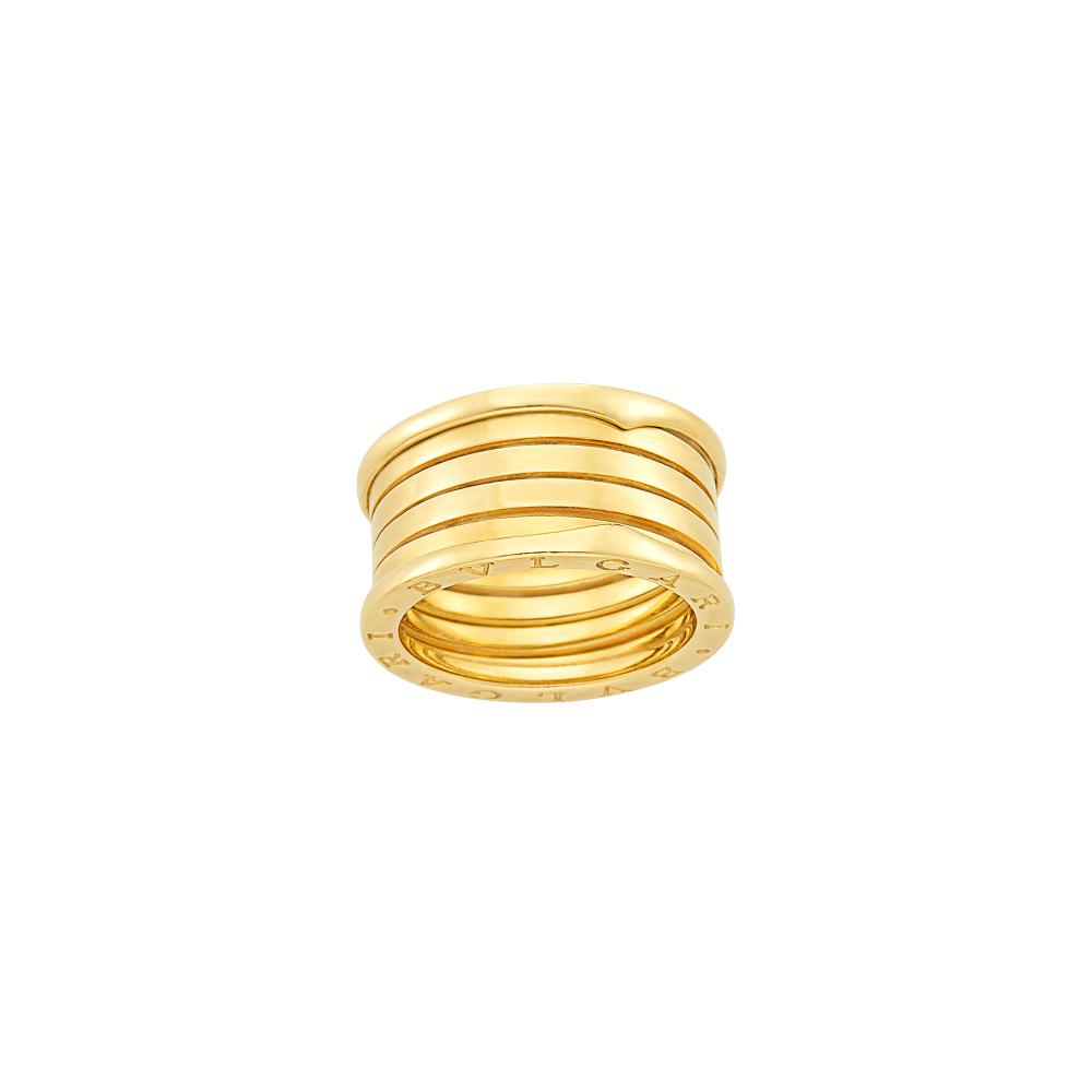 Wide Gold 'B.Zero1' Five Band Ring, Bulgari