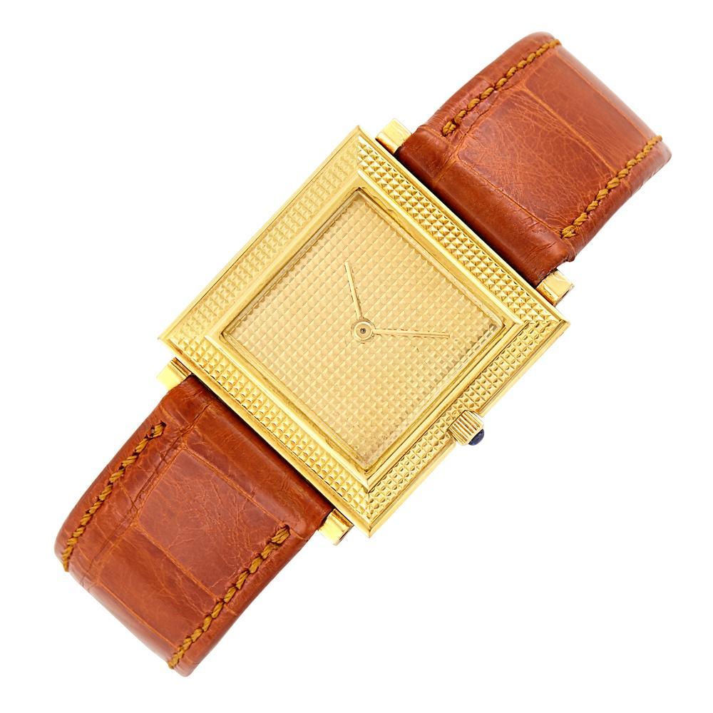 Gold Wristwatch, Boucheron, France
