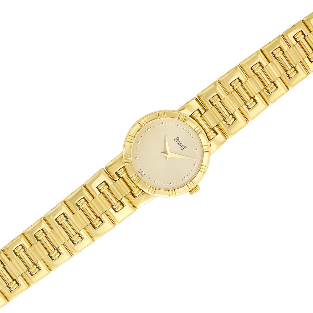 Gold 'Dancer' Wristwatch, Piaget