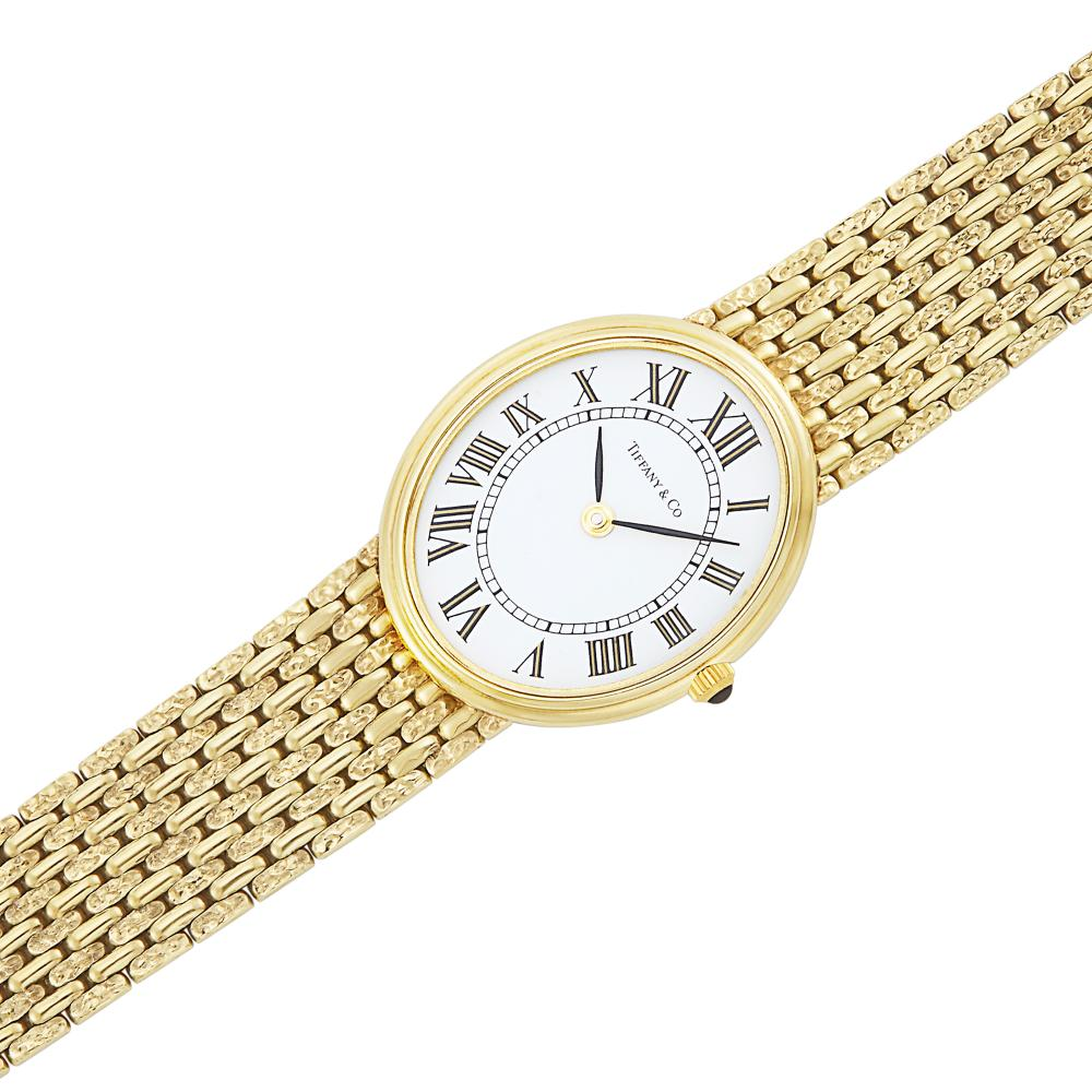 Gold Wristwatch, Tiffany & Co.
