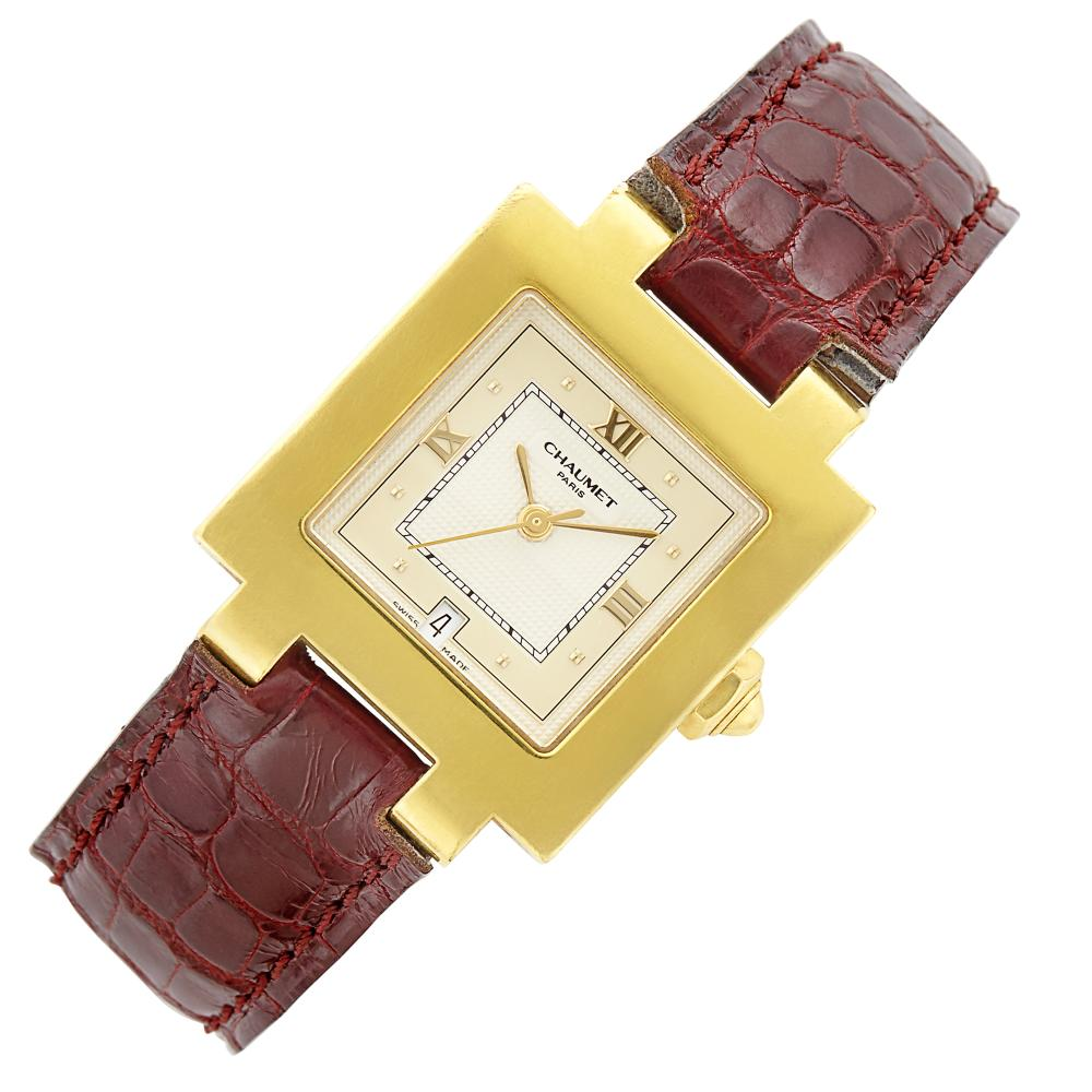Gold Wristwatch, Chaumet, Paris