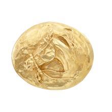 Gold Horse Belt Buckle, Jack Swanson