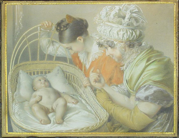 Carl Josef Alois Agricola German, 1779-1852 THE ARTIST'S FAMILY