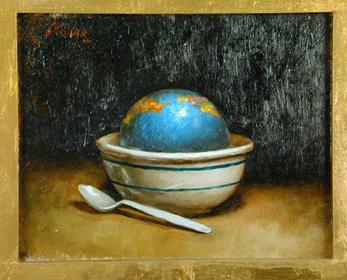 Steven Skollar American, 20th century BREAKFAST.