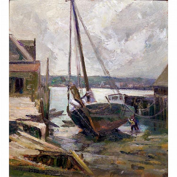 Caroline M. Bell American, 1874-1970 Low Tide