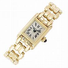 Lady's Gold Wristwatch, Cartier, Paris