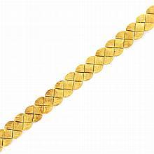 Gold Bracelet, Henry Dunay