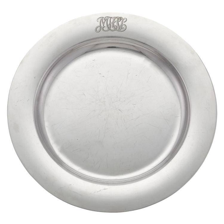 S. Kirk & Son, Inc. Sterling Silver Circular Tray