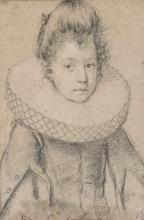 Ottavio Leoni Italian, 1578-1605 Portrait of Donna Liza Aldobrandini
