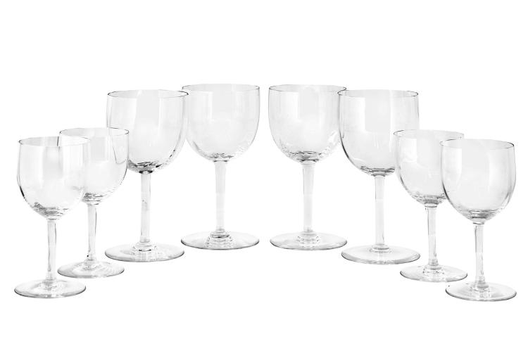 Group of Baccarat Glass Stemware