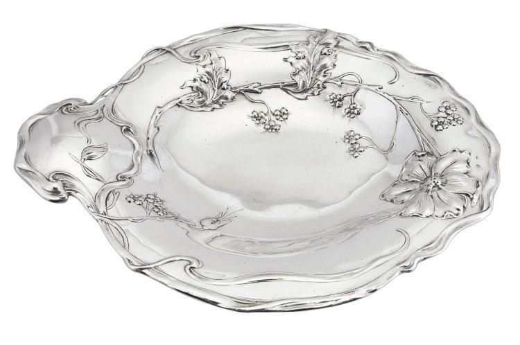 Austrian Jugendstil Silver Centerpiece
