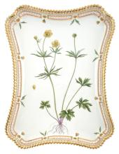 Royal Copenhagen Porcelain 'Flora Danica' Tray