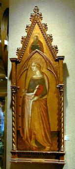 Niccolo di ser Sozzo Sienese, d. 1363 SAINT CATHERINE OF ALEXANDRIA