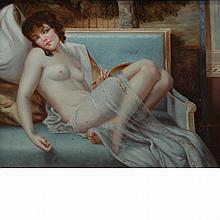 20th Century School Reclining Nude