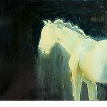 Vincent Ciniglio 20th Century The Fifth Horse, 1993   Signed Vincent Ciniglio and inscribed VINCENT CINIG...
