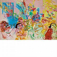 Ana Eckell Argentine, b. 1947 La Tarde, 1986