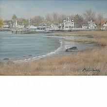 Roger Milinowski American, b. 1945 (i) Tod's Point Shore, Greenwich, CT (ii) Daniel Island Marsh