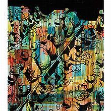 Jorge Opazo Chilean, b. 1970 Plato Fundamental, 1997