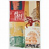 Robert Rauschenberg HABITAT Color lithograph, Robert Rauschenberg, Click for value