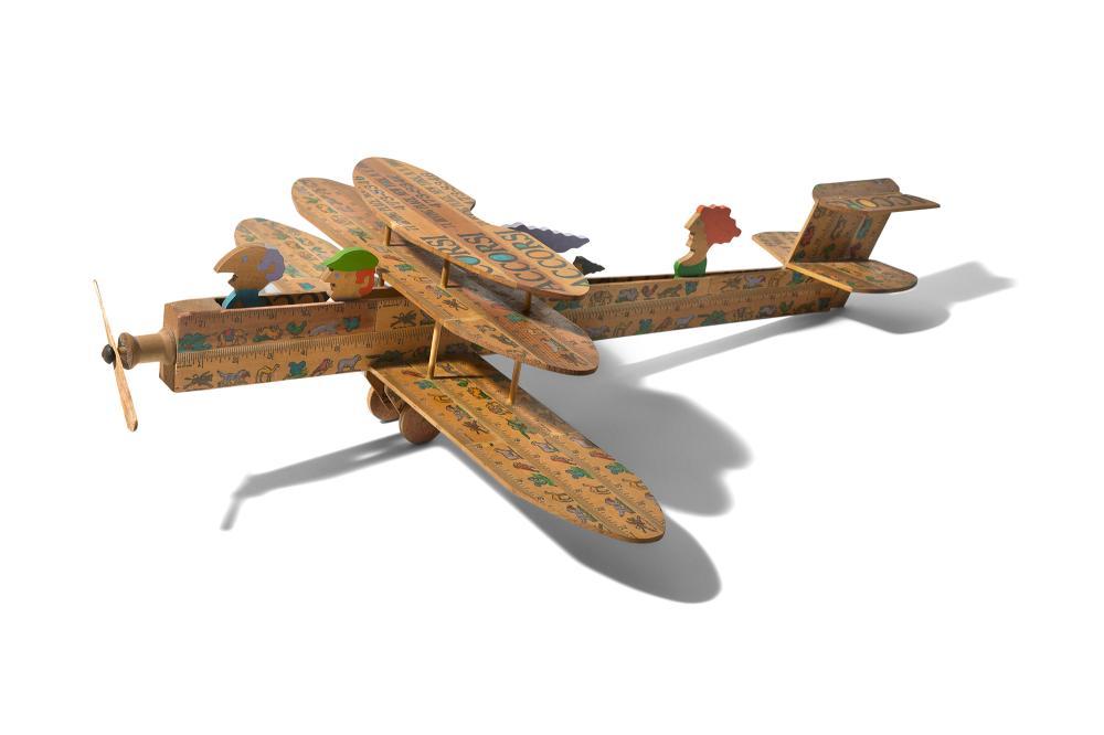 William Accorsi American, b. 1931 'Oom Pah Pah Circus' Toy Airplane, circa 1970
