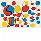 Alexander Calder COMPOSITION Color lithograph