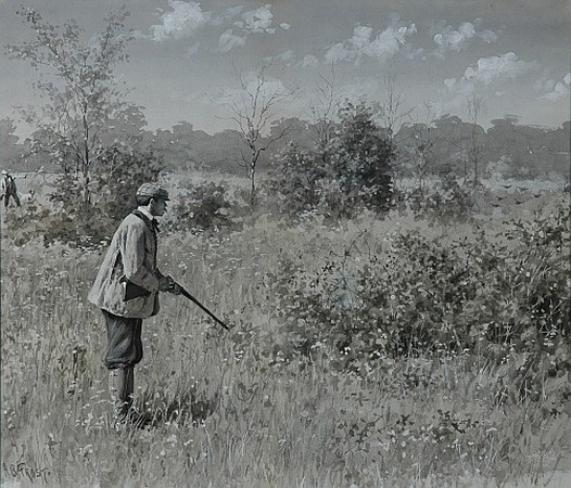 Arthur Burdett Frost American, 1851-1928 Shoot: Shoot: Man: Why Don''t You Shoot? (Illustration for Harper''s, 1887...