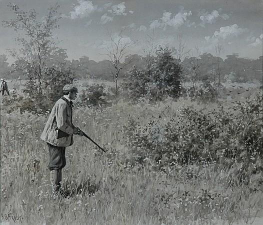 Arthur Burdett Frost American, 1851-1928 Shoot: Shoot: Man: Why Don''t You Shoot? (Illustration for Harper''s, 1887...