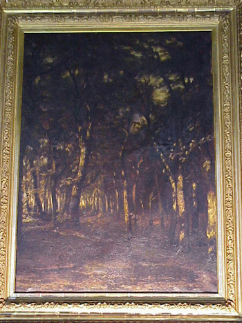 Karl (Carl) Rodeck Dutch, 1841 - 1909 FOREST INTERIOR, BLACK FOREST, GERMANY Signed C. Rodeck (ll)