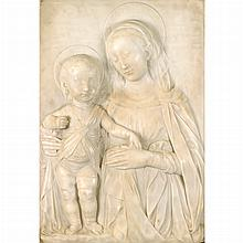Manner of Andrea del Verrocchio Madonna and Child