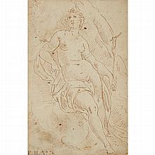 Italian School 17th Century Mary Magdalene in the Wilderness