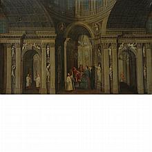 Manner of Pieter Neefs The Presentation in the Temple
