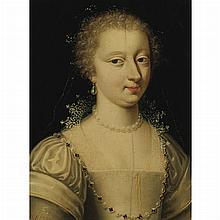 Follower of Francois Clouet Portrait of the Duchesse d'Etampes