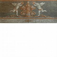 Manner of Piat-Joseph Sauvage Amorini with Cornucopiae: Two