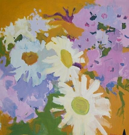 Robert (Warren) Dash American, b. 1934 Wednesday''s Flowers, 1968