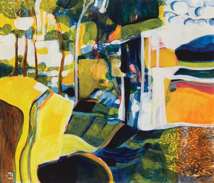 Bengt Arne Linderos (BAL) Swedish, 1929-1989 Landscape IV