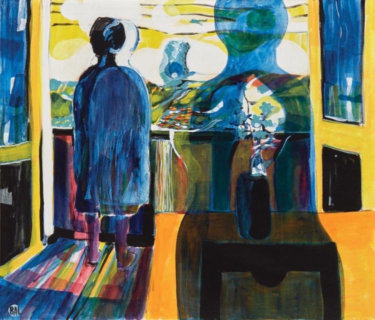 Bengt Arne Linderos (BAL) Swedish, 1929-1989 The Balkony