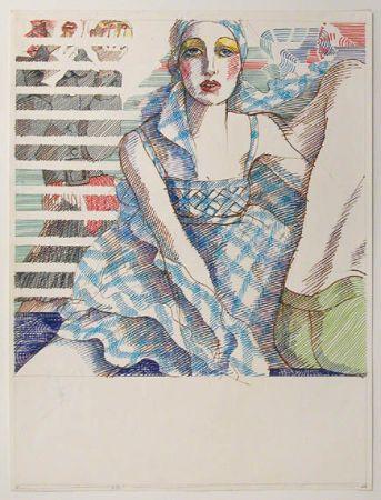 Antonio Lopez Fashion Illustration