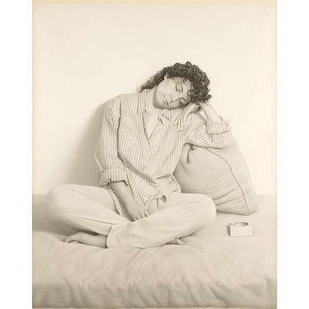 Gerardo Pita Spanish, b. 1950 Girl Resting 1, 1985