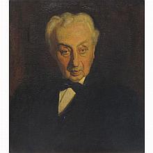 Victor David Hecht American, 1873-1931 Portrait of Michael Stiener
