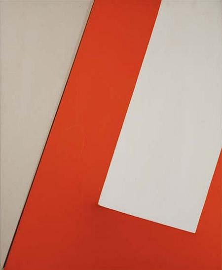 Charles Hinman American, b. 1932 Painting with 2'' Path, 1967