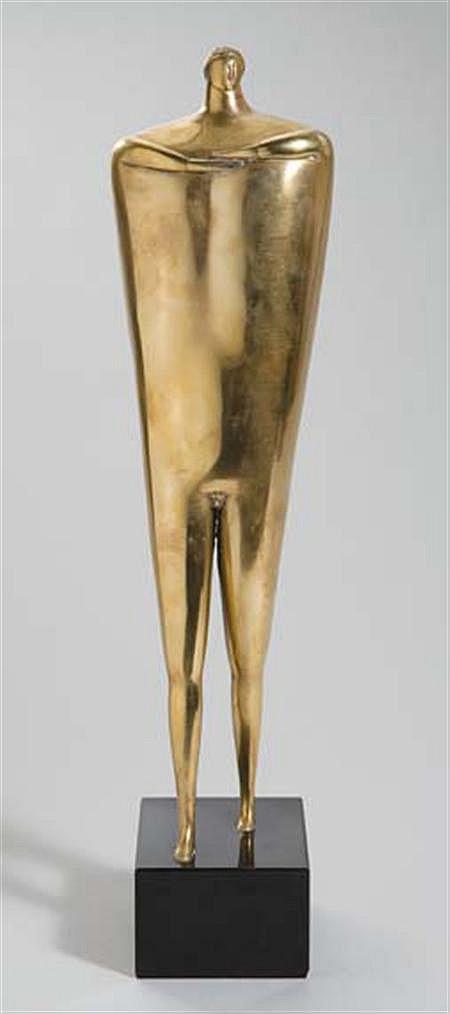 Joseph M. Glasco American, 1925-1996 Striding Figure