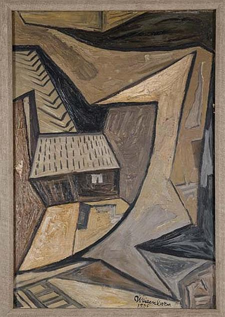 Rudolph Weisenborn American, 1881-1974 Abstraction, 1935