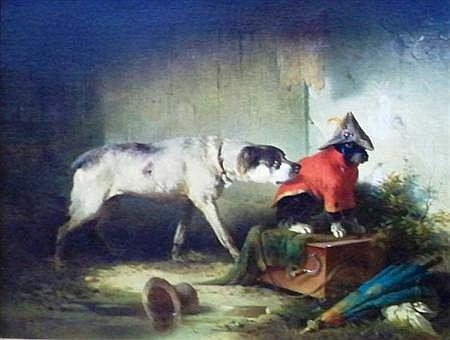 Carl Pischinger Austrian, 1823-1886 Retired Performers, 1859